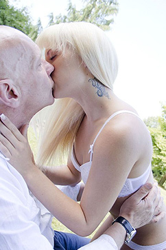 Nella Elmer Slutty Blonde Maid is Ecstatic