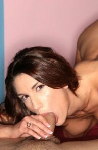 August Ames Begging for it