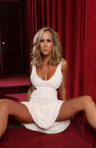 Brandi Love Brandi in white