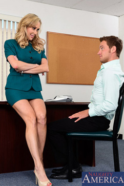 Brandi Love I can keep my man hard