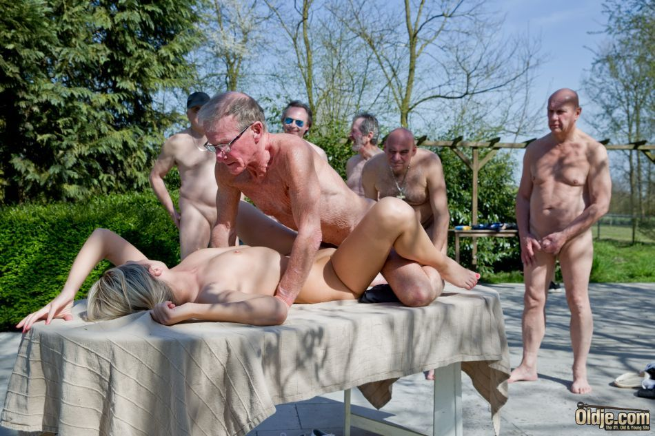 Gay male morning glory