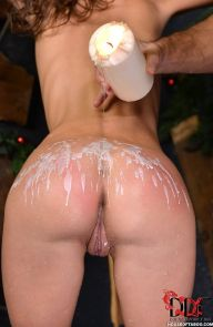 Gina Gerson Blonde Gets Waxed & Spanked