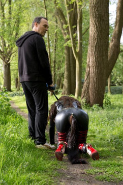 Julie Skyhigh Full Day Exploatation of a slave with Julie Skyhigh