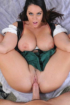 Alison Tyler Busty babe in a Bavarian Fantasy!
