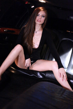 Zoe Wood Wild ride in the limo - A night to remember