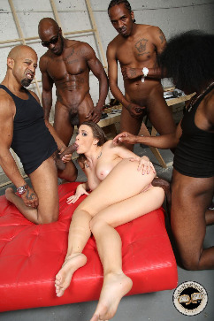 Chanel Preston Give me more black cocks to take in please