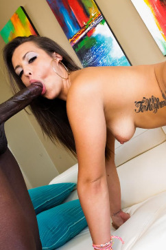 Kelsi Monroe Big black dick for a pretty fucking chick