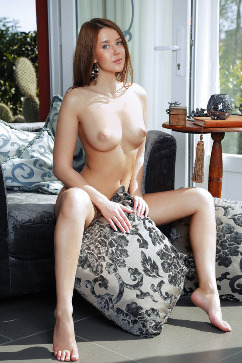 Sybil A Morning nude art - awake and horny!
