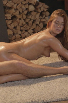 Chrissy Fox Hot Winter Fox - Fireplace sex!
