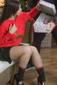 Nekane Christmas Threesome Surprise