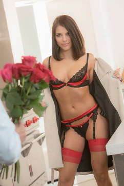 Adriana Chechik Fuck your flowers, I just want your cock