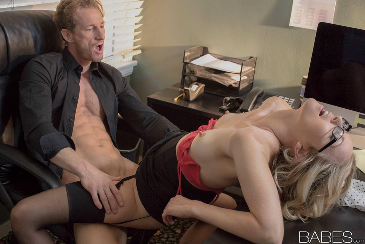 Hot blonde female agent fucking huge dick in office tnaflix porn pics