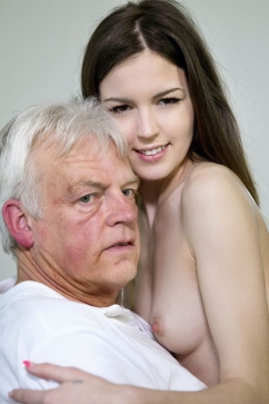 Cindy Shine Let Me Warm You Up - old and young encounter