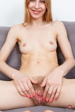 Mari Kler Hairy pussy ready for a big cock