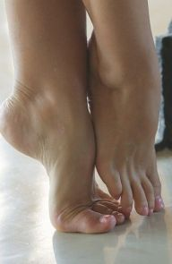 Satin Bloom Feet Trained For Love