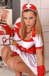 Dorothy Black The Bloodthirsty Nurse!