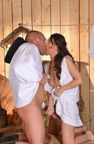 jess west Wild Peasant Girl Gets Fucked