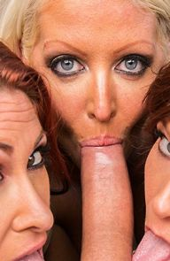 Tiffany Mynx Group sex with three milfs