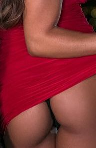 Madison Ivy Lady in Red is Dancing for You