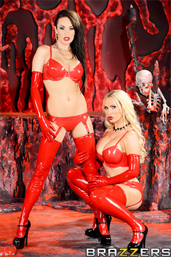 Nikki Benz Horny Hosts of Hell