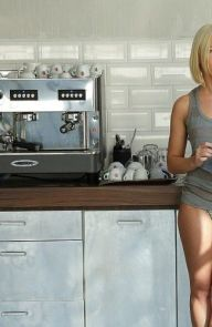 Kiara Lord Sweet love in the kitchen with young teeny blonde