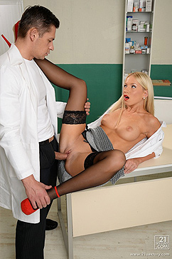 Kiara Lord Awesome fuck in doctor's office