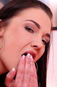 Angelik Duval French Babe Fists Her Rosebud