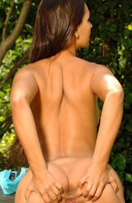 Eve Angel Eve Angel Masturbates Outdoors