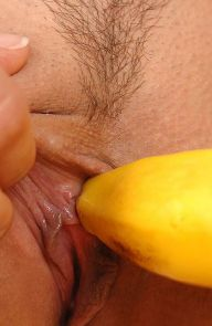 Eve Angel Sexy Eve Angel Fucks a Banana