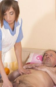 Tina Hot  Premium Old Cock Nursing