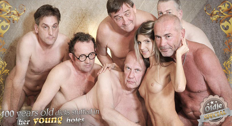 Gina Gerson Old School Gangbang Reloaded
