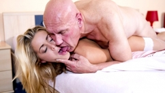 Christen Courtney Young pussy gets penetrated and girl takes cum in mouth