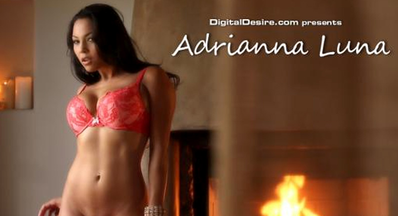 Adriana Luna By the fire