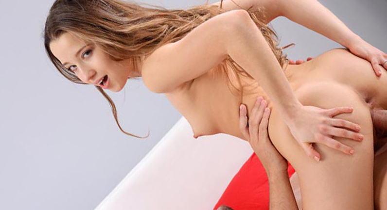 Taissia Shanti Riding ends with anal creampie
