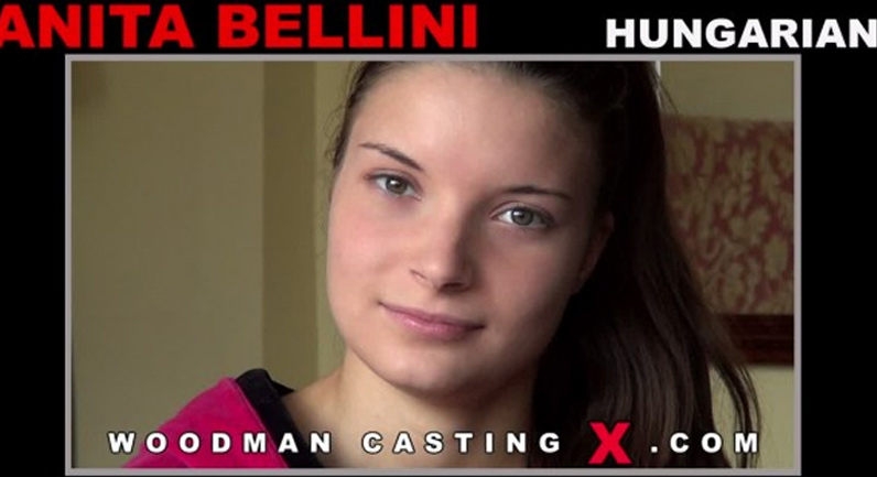 Anita Berlusconi Anita on Woodman's casting