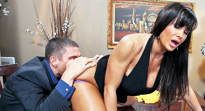 Lisa Ann Winner Winner, Sex during Dinner