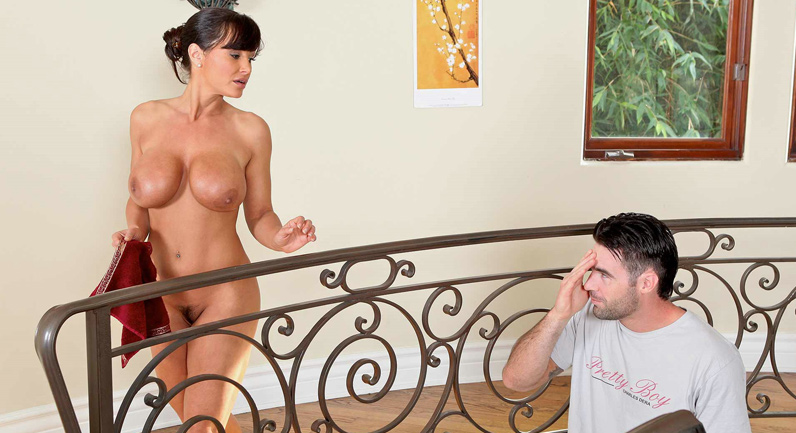 Jogging Around The Cock with Lisa Ann HDPooncom