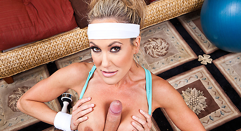 Brandi Love Shake his Dick