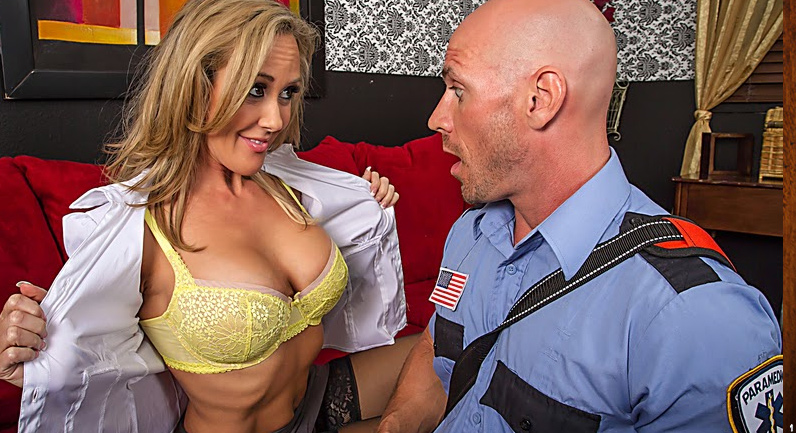 Brandi Love 911, what's your emergency? i need a cock to fuck!