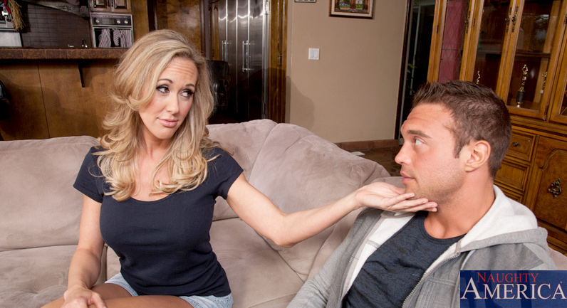 Brandi Love The older woman he should be fucking