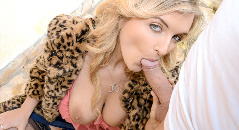 Jemma Valentine Canadian Babe Sucks Cock for Cash