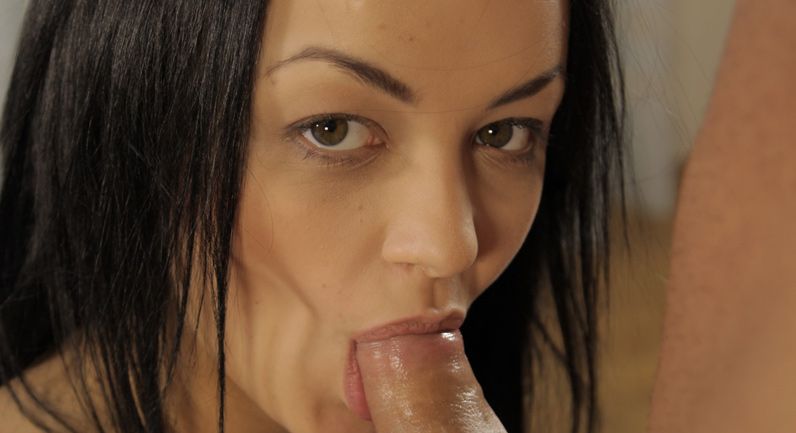 Daphne Klyde Enjoying a blowjob
