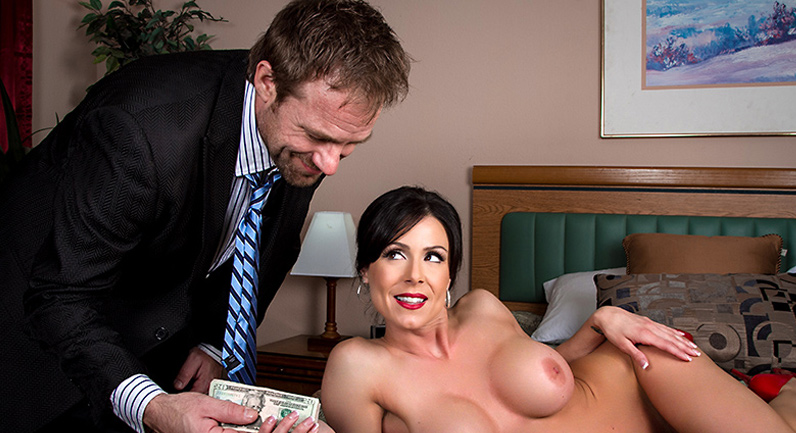 Kendra Lust Milf stewardess hardcore sex in a hotel room
