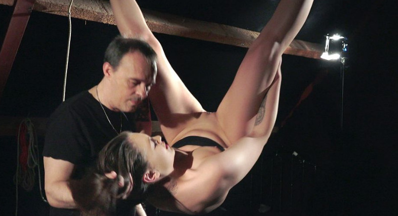 Angelina Brill  Increased pain in a dominance bdsm game
