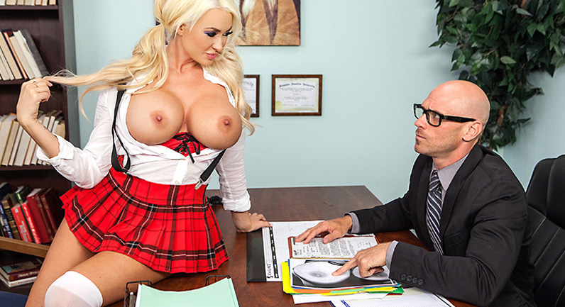 Summer Brielle Schoolgirl with big tits fucked - You're Sexpelled