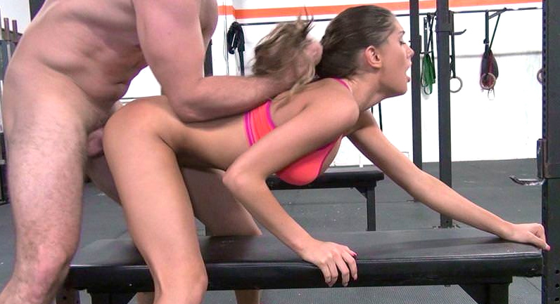 August Ames Crossfuck training sex